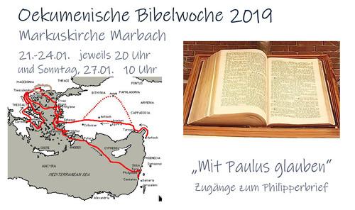 Ökumenische Bibelwoche 2019