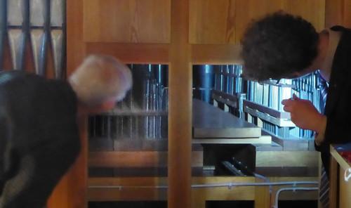 Wiederholung der Orgelführung in der Markuskirche