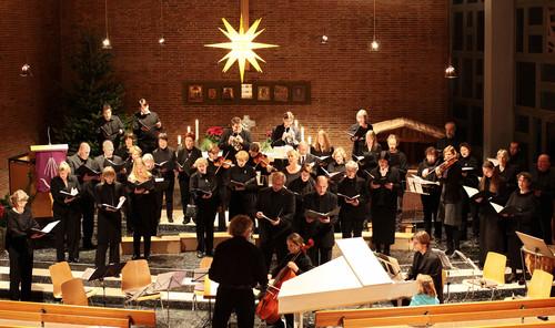 25-jähriges Jubiläum Wolfgang Krumm und Weihnachtskonzert in der Markuskirche